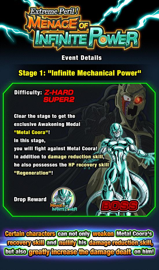 Extreme Peril Menace Of Infinite Power News Dbz Space