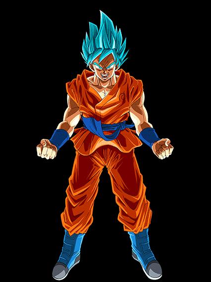 Divine evolution super saiyan god ss goku int sr - Sangoku super saiyan god ...