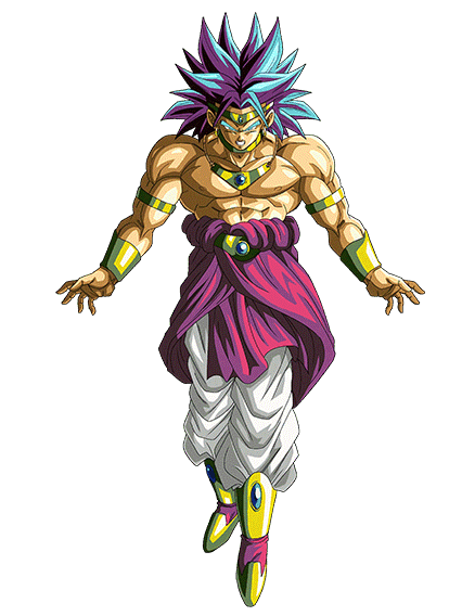 Unleashed Force Super Saiyan Broly Phy Ssr Game